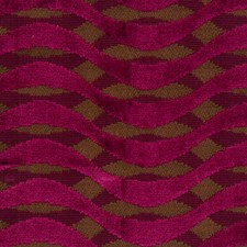 Boysenberry Geometric Drapery and Upholstery Fabric by S. Harris