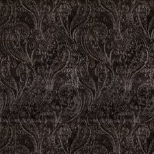 Pewter Paisley Drapery and Upholstery Fabric by S. Harris