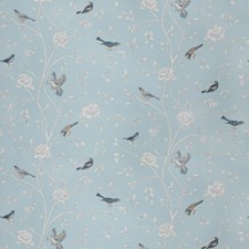 Haze Floral Drapery and Upholstery Fabric by Trend