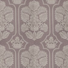 Lavender Print Pattern Drapery and Upholstery Fabric by Vervain