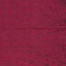 Burgundy/Red Lattice Drapery and Upholstery Fabric by Kravet