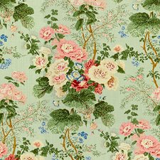 River B Botanical Drapery and Upholstery Fabric by Lee Jofa