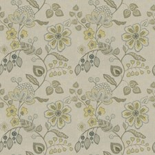 Honey Floral Drapery and Upholstery Fabric by Trend
