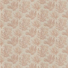 Coral Jacquard Pattern Drapery and Upholstery Fabric by Fabricut