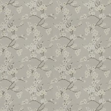 Feather Floral Drapery and Upholstery Fabric by Fabricut