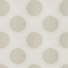 Linen Shimmer Embroidery Drapery and Upholstery Fabric by Fabricut