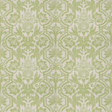 Celery Leaf Floral Drapery and Upholstery Fabric by Vervain