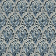 Harbor Print Pattern Drapery and Upholstery Fabric by Trend