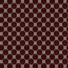 Ruby Geometric Drapery and Upholstery Fabric by Fabricut