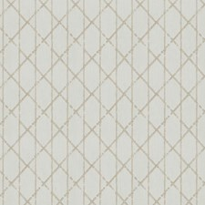 Cream Sheen Embroidery Drapery and Upholstery Fabric by Fabricut