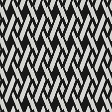 Black/White Global Drapery and Upholstery Fabric by Fabricut