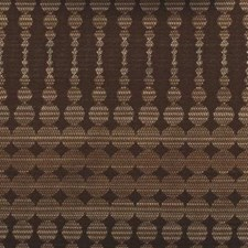 Cocoa Abstract Drapery and Upholstery Fabric by Duralee