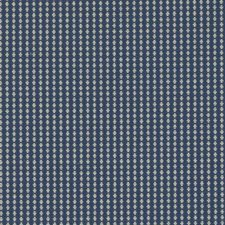 Cobalt Geometric Drapery and Upholstery Fabric by Duralee