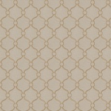 Brass Embroidery Drapery and Upholstery Fabric by Fabricut