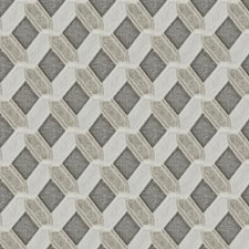 Alpaca Geometric Drapery and Upholstery Fabric by Stroheim