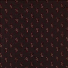 Brown/Burgundy/Red Paisley Drapery and Upholstery Fabric by Kravet