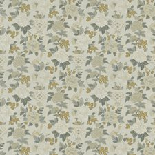 Ash Floral Drapery and Upholstery Fabric by Trend