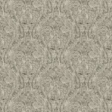 Charcoal Paisley Drapery and Upholstery Fabric by Fabricut