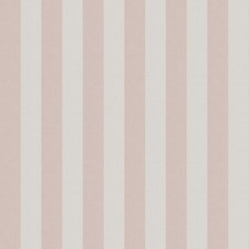Powder Pink Stripes Drapery and Upholstery Fabric by Fabricut