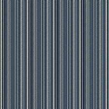 Azure Stripes Drapery and Upholstery Fabric by Fabricut
