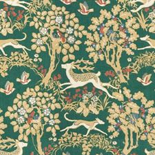 Forest Animal Drapery and Upholstery Fabric by Lee Jofa