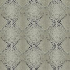 Slate Geometric Drapery and Upholstery Fabric by Trend