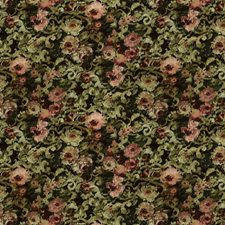 Tarragon Floral Drapery and Upholstery Fabric by Stroheim