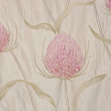 Red Bud Drapery and Upholstery Fabric by RM Coco