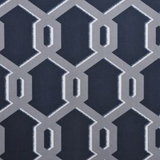 Petrol Drapery and Upholstery Fabric by RM Coco