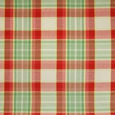 Crabapple Plaid Check Drapery and Upholstery Fabric by Greenhouse