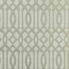Silver On Taupe Drapery and Upholstery Fabric by Scalamandre