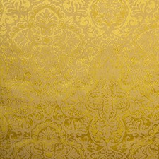 Golden Yellow Drapery and Upholstery Fabric by Scalamandre