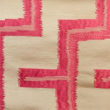 Paradise Pink Drapery and Upholstery Fabric by Scalamandre
