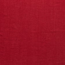 Samba Red Linen Drapery and Upholstery Fabric by Scalamandre
