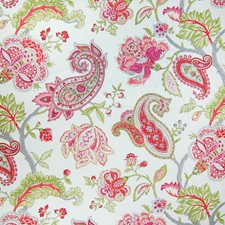 Spring Paisley Drapery and Upholstery Fabric by Greenhouse