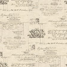 Gris Toile Drapery and Upholstery Fabric by Kravet