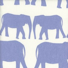 Denim Animal Drapery and Upholstery Fabric by Andrew Martin