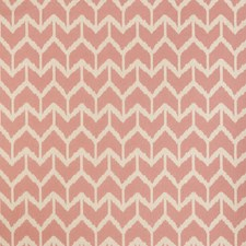 Pink Geometric Drapery and Upholstery Fabric by Andrew Martin