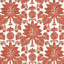 Coral Drapery and Upholstery Fabric by Kasmir
