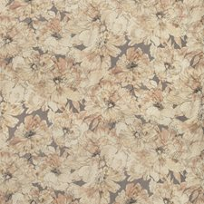 Grey Heather Botanical Drapery and Upholstery Fabric by Kravet