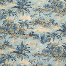 Riptide Tropical Drapery and Upholstery Fabric by Greenhouse