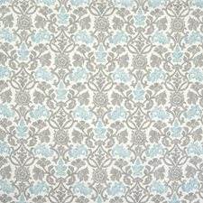 Cool Floral Drapery and Upholstery Fabric by Greenhouse