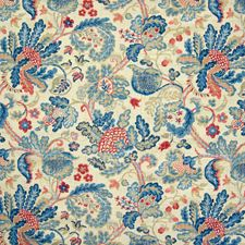 Royal Floral Drapery and Upholstery Fabric by Greenhouse