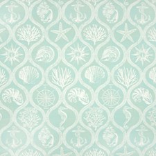 Mist Tropical Drapery and Upholstery Fabric by Greenhouse