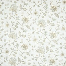 Crystal Floral Drapery and Upholstery Fabric by Greenhouse