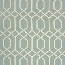 Rain Lattice Drapery and Upholstery Fabric by Greenhouse