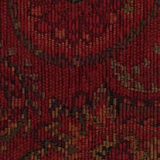 Poppy Red Drapery and Upholstery Fabric by Robert Allen