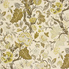 Spun Gold Print Drapery and Upholstery Fabric by Kravet