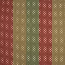 Red/Brn Dots Drapery and Upholstery Fabric by G P & J Baker