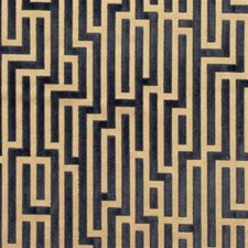 Anthracite Modern Drapery and Upholstery Fabric by G P & J Baker